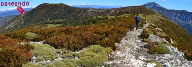 Hacia el pico Gabardiella