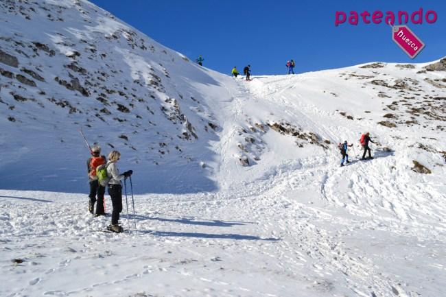 Ruta en raquetas al Pico Cuyalaret