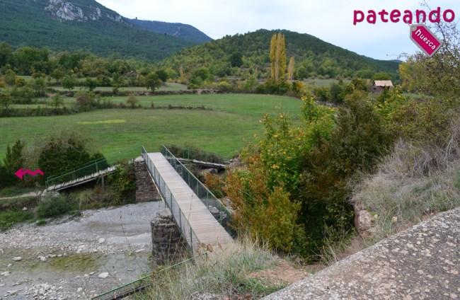 Puente sobre el río Asabón