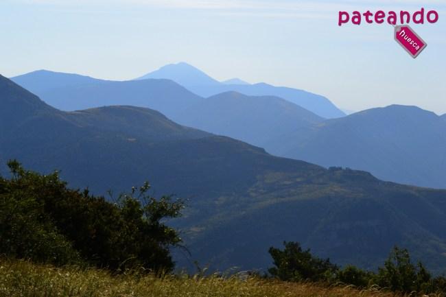 Guara desde el Pico las Calmas
