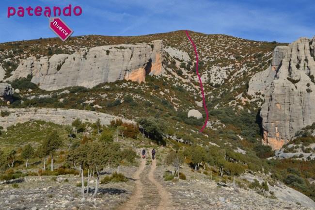 Subida al Pico Montidinera