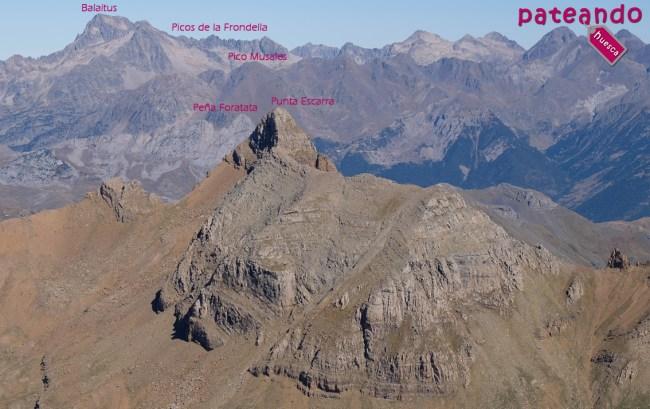 Zoom a Punta Escarra