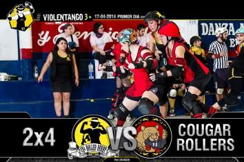 Violentango 3. Roller Derby en Argentina.