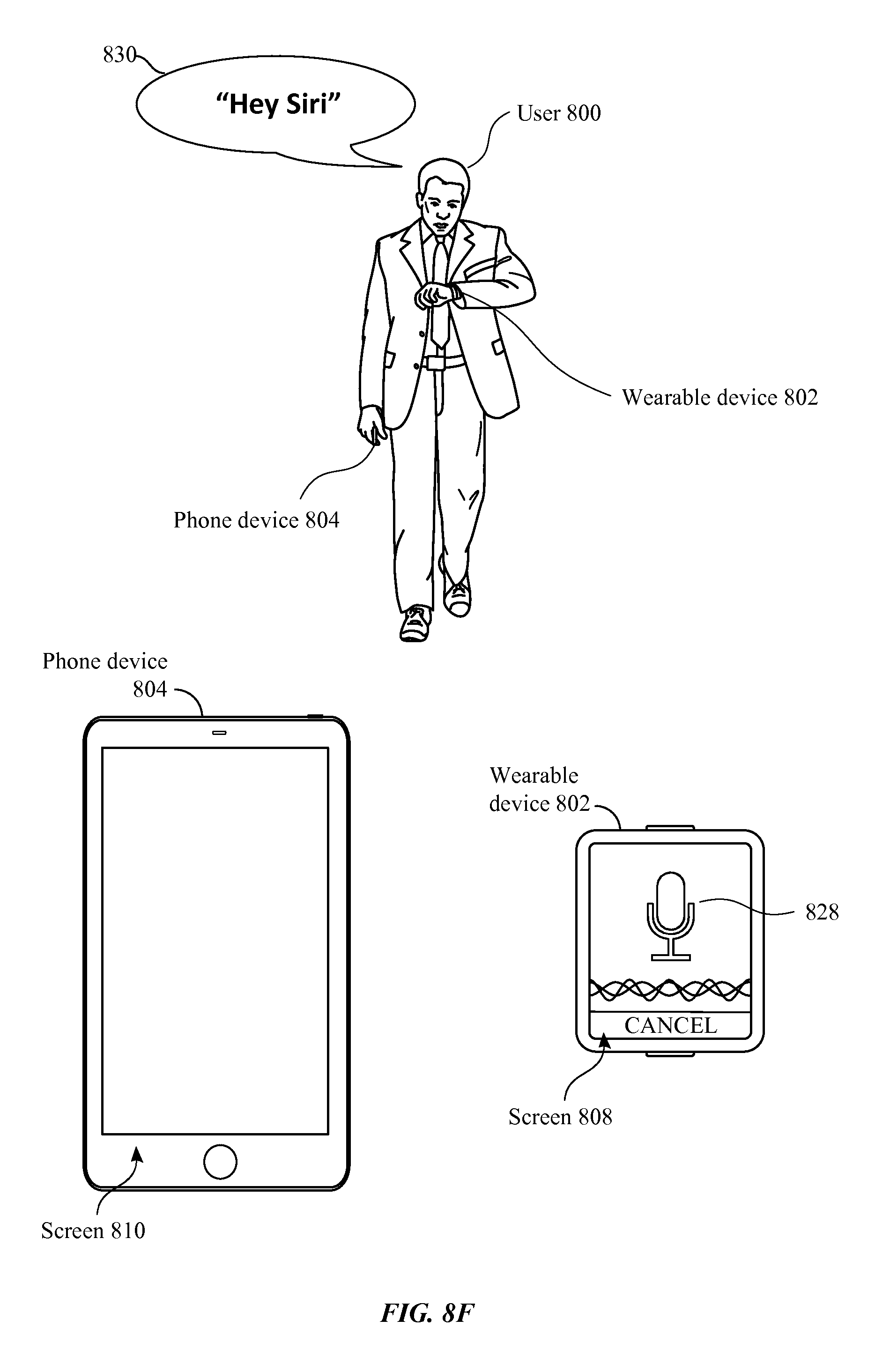 Us9721566b2 peting devices responding to voice triggers patents