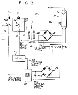 Patent EP0137401A2  Heating circuit for a filament of an