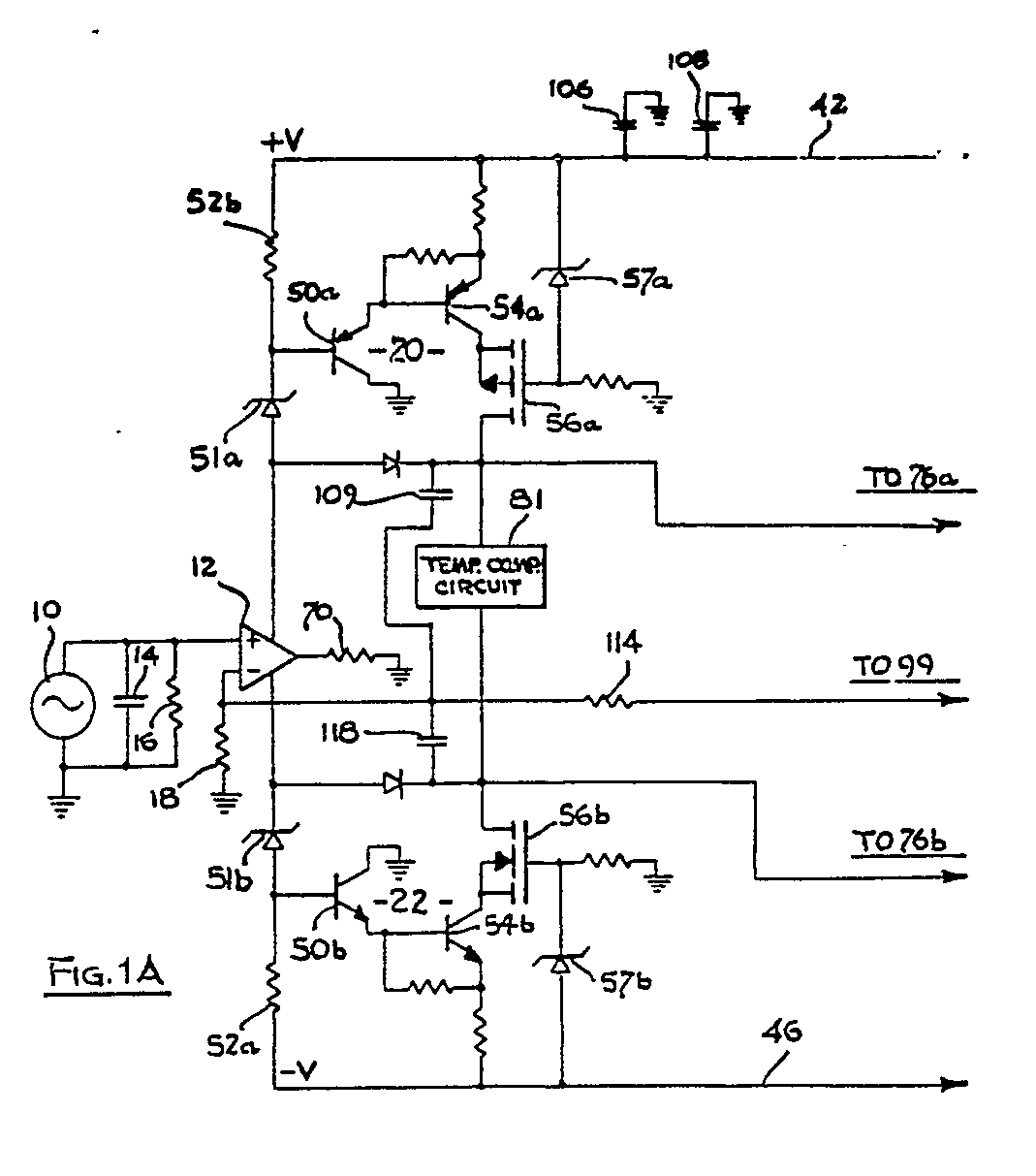 Audio Amplifier Darlington Patents