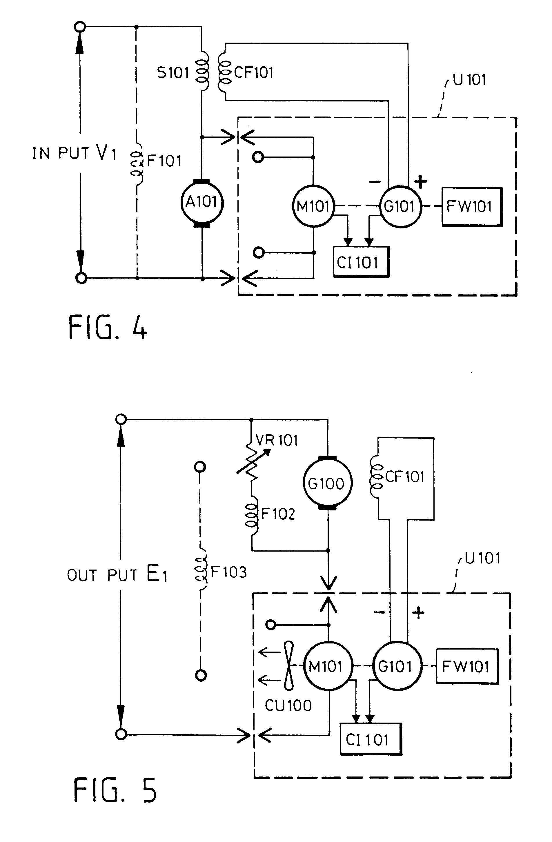 Compound Dc Motor Diagram