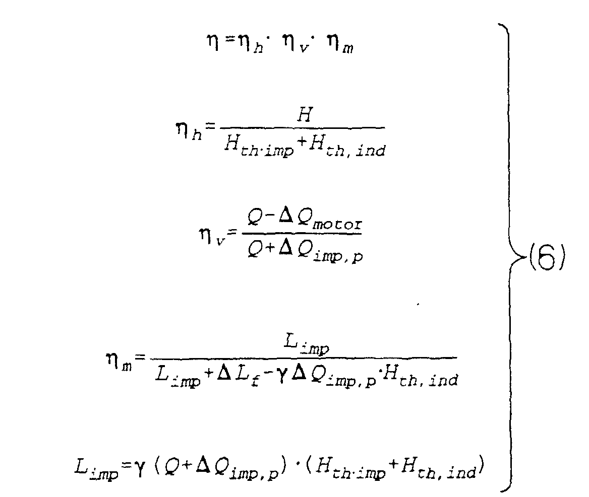 Pump Pump Efficiency Equation