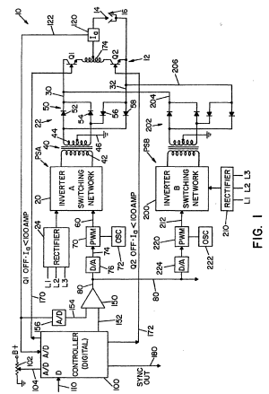 Patent EP1086773B1  Electric arc welder with a plurality