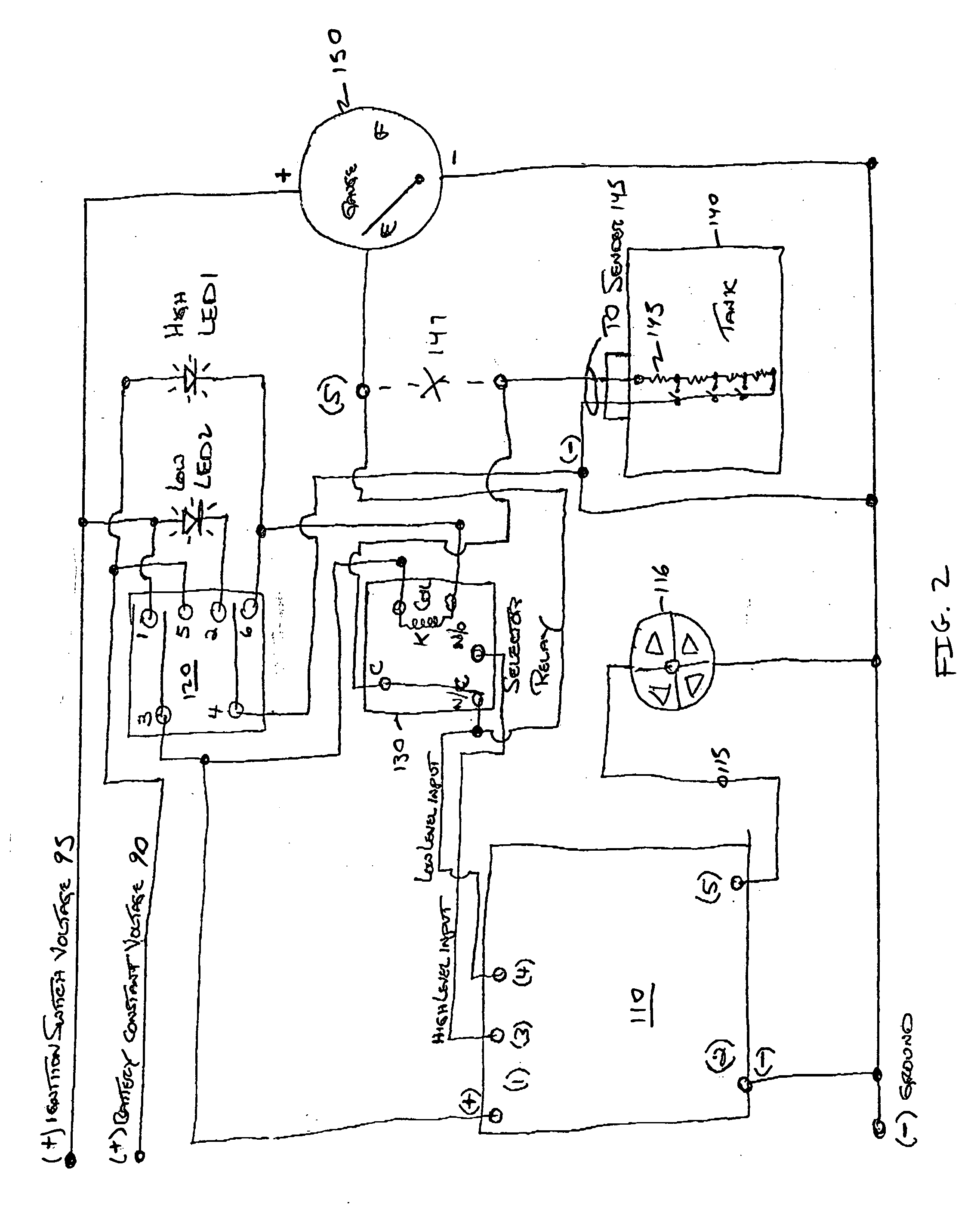 Rv Holding Tank Monitor Panel Wiring Diagram
