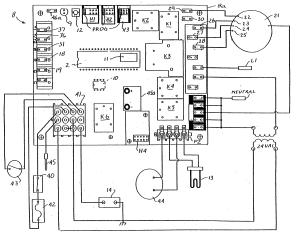 Patent US20040230402  Integrated furnace control board