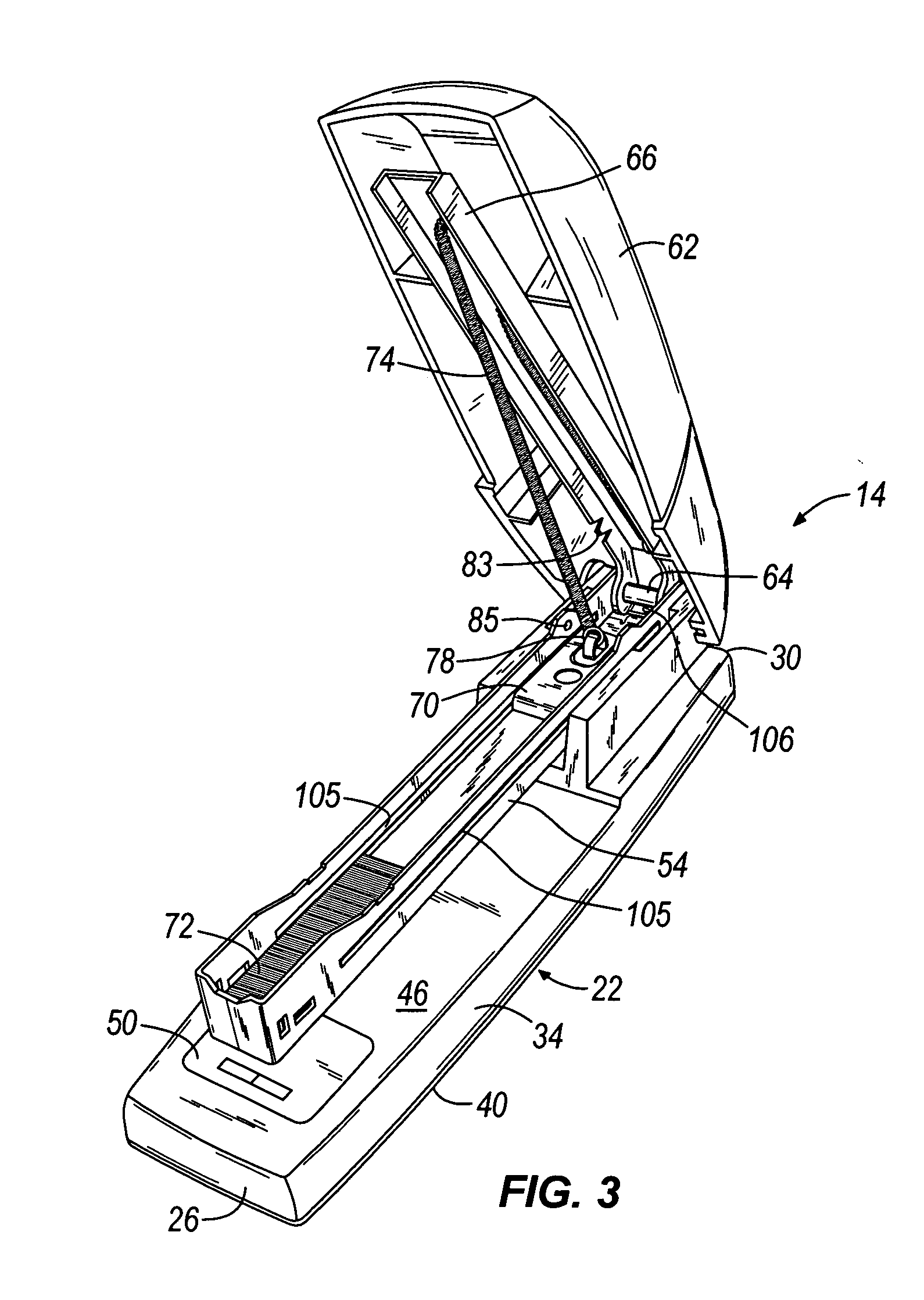 Swingline Stapler Parts Diagram