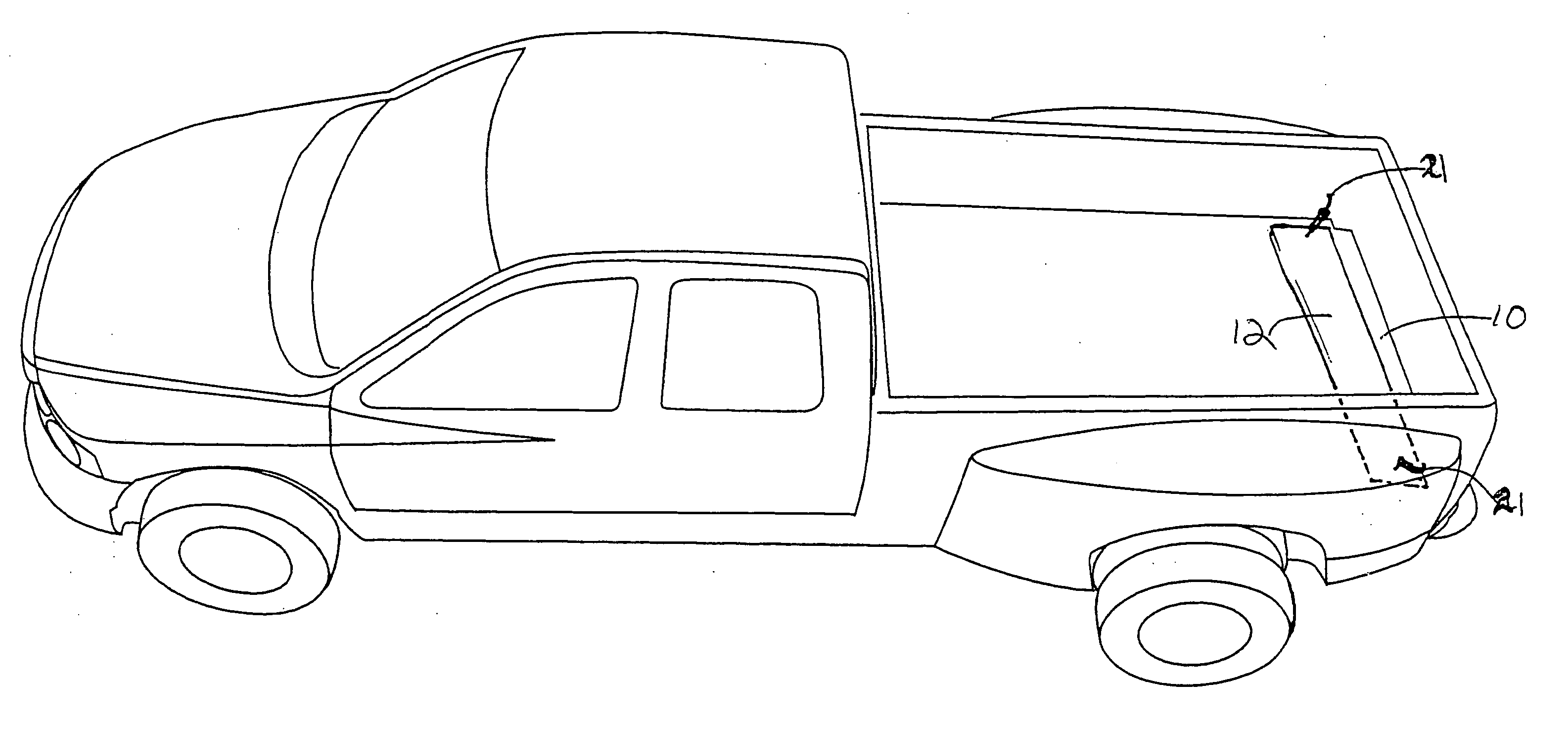 Ford Truck Outline Drawings