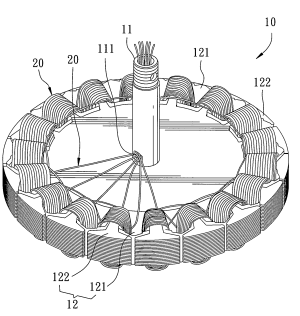 Patent US20080088198  Triplephase brushless motor for a ceiling fan  Google Patents