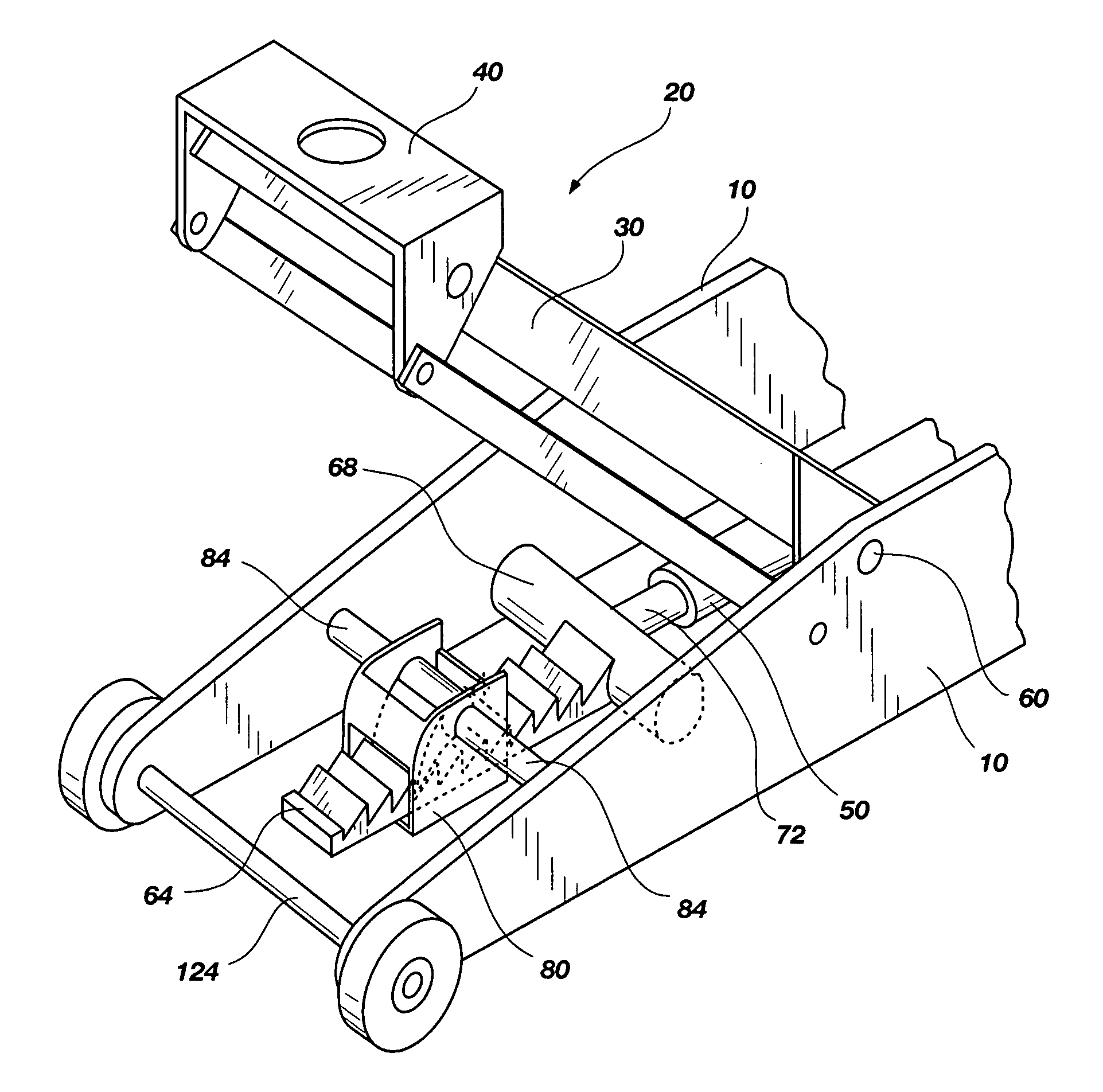 Larin Floor Jack Parts List