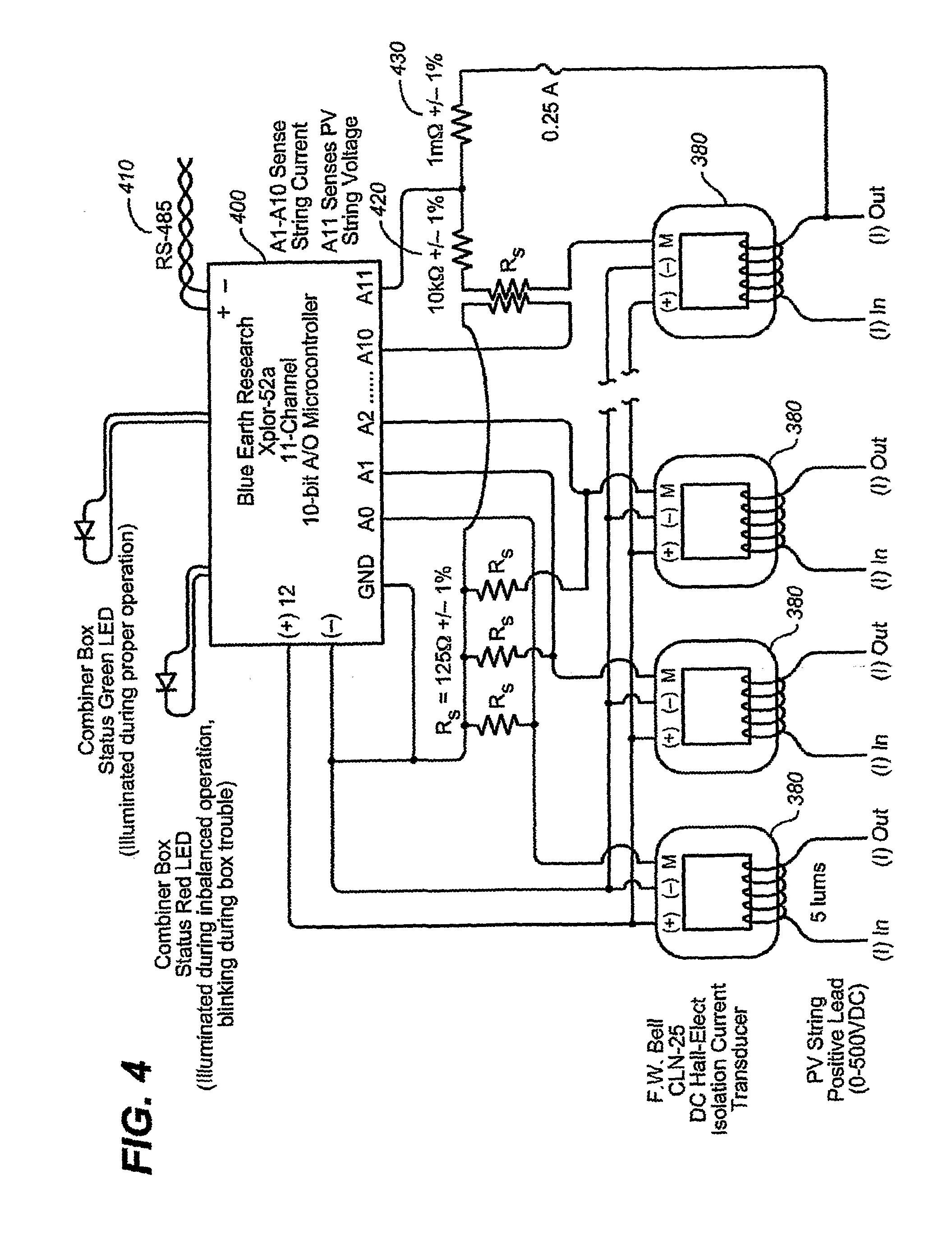 Solar Combiner Schematic