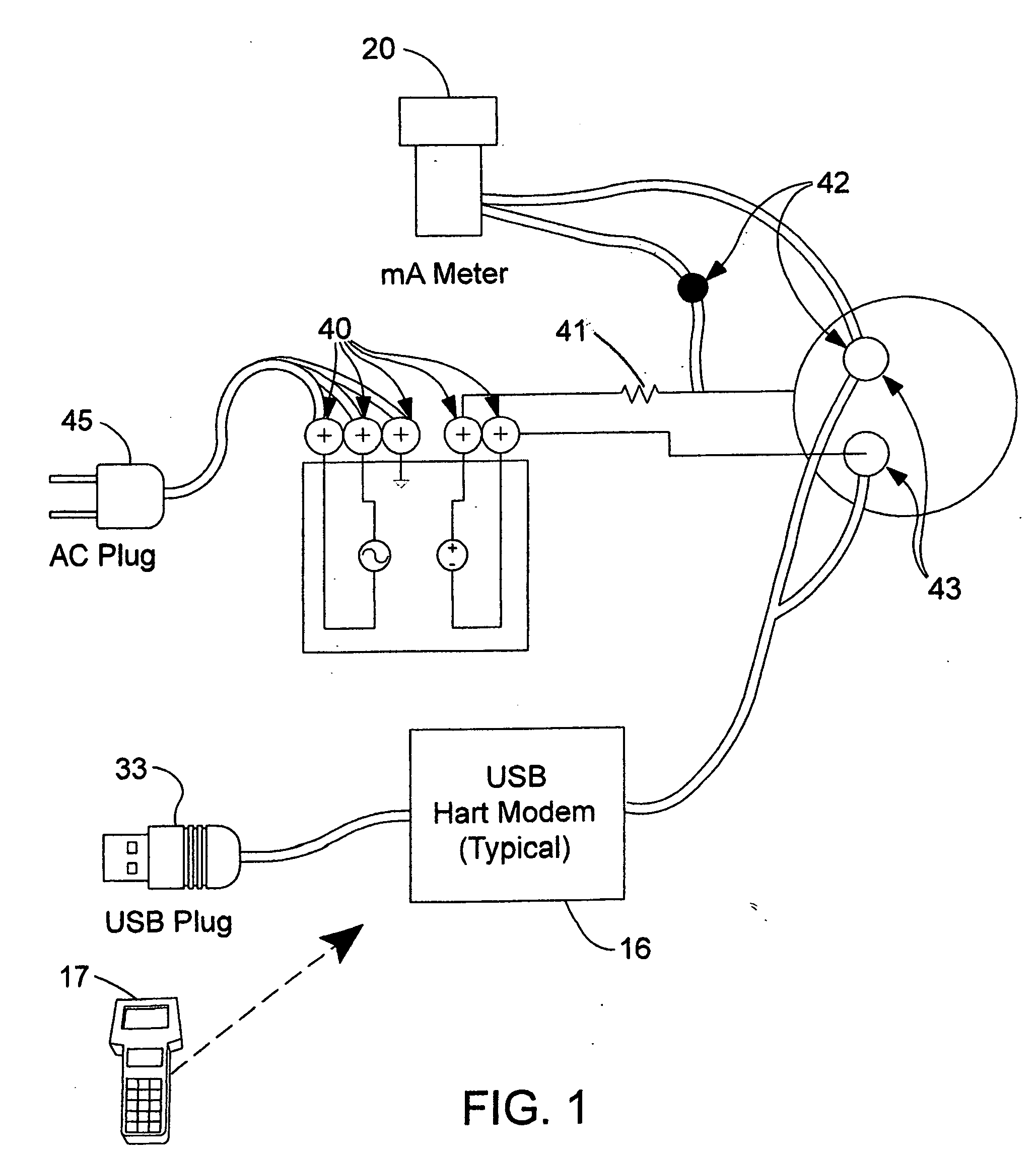 Wiring Diagram Modem