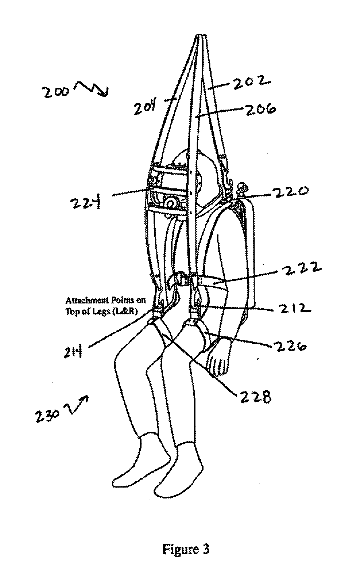 Human Safety Harness