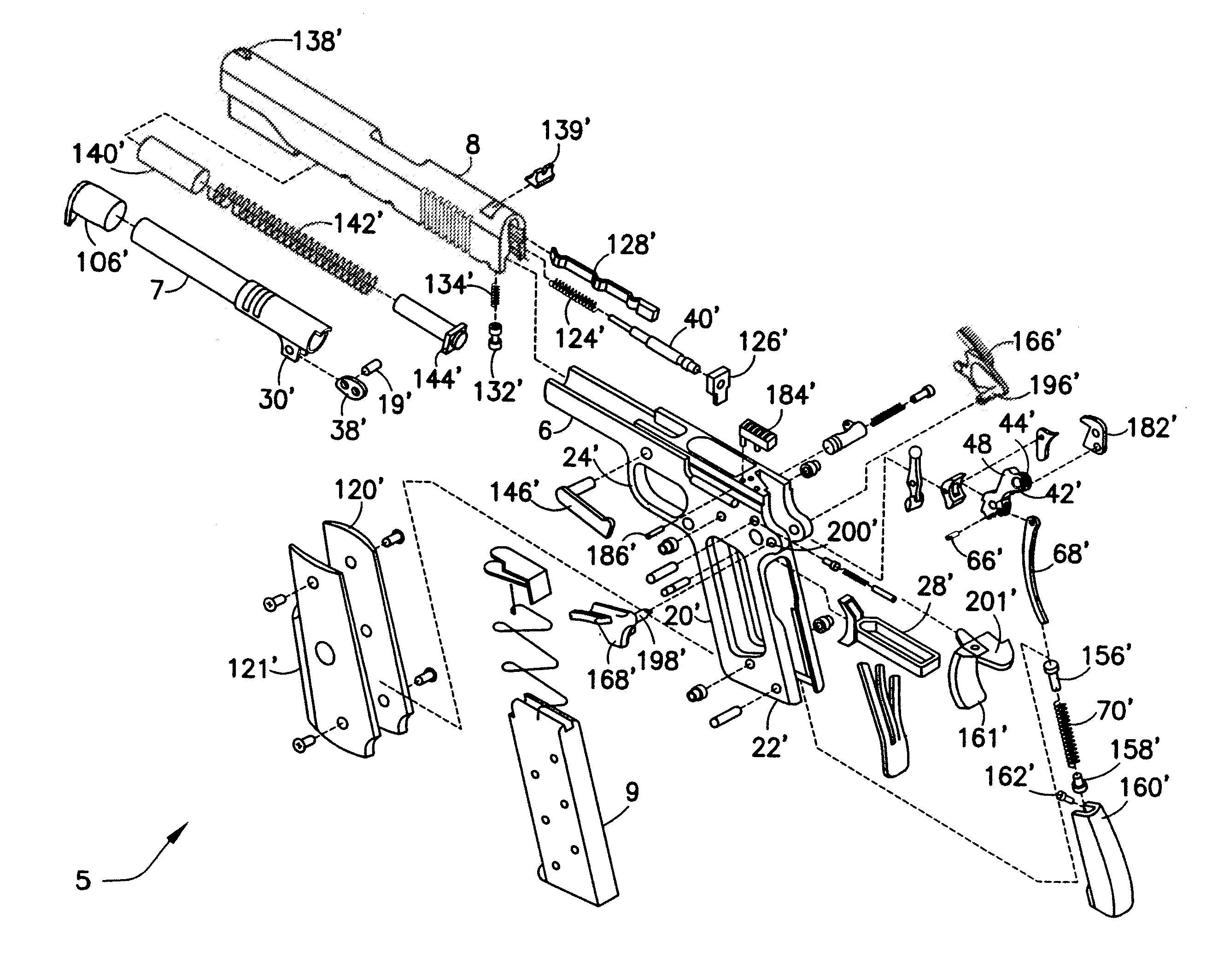 Colt M4 Parts Diagram