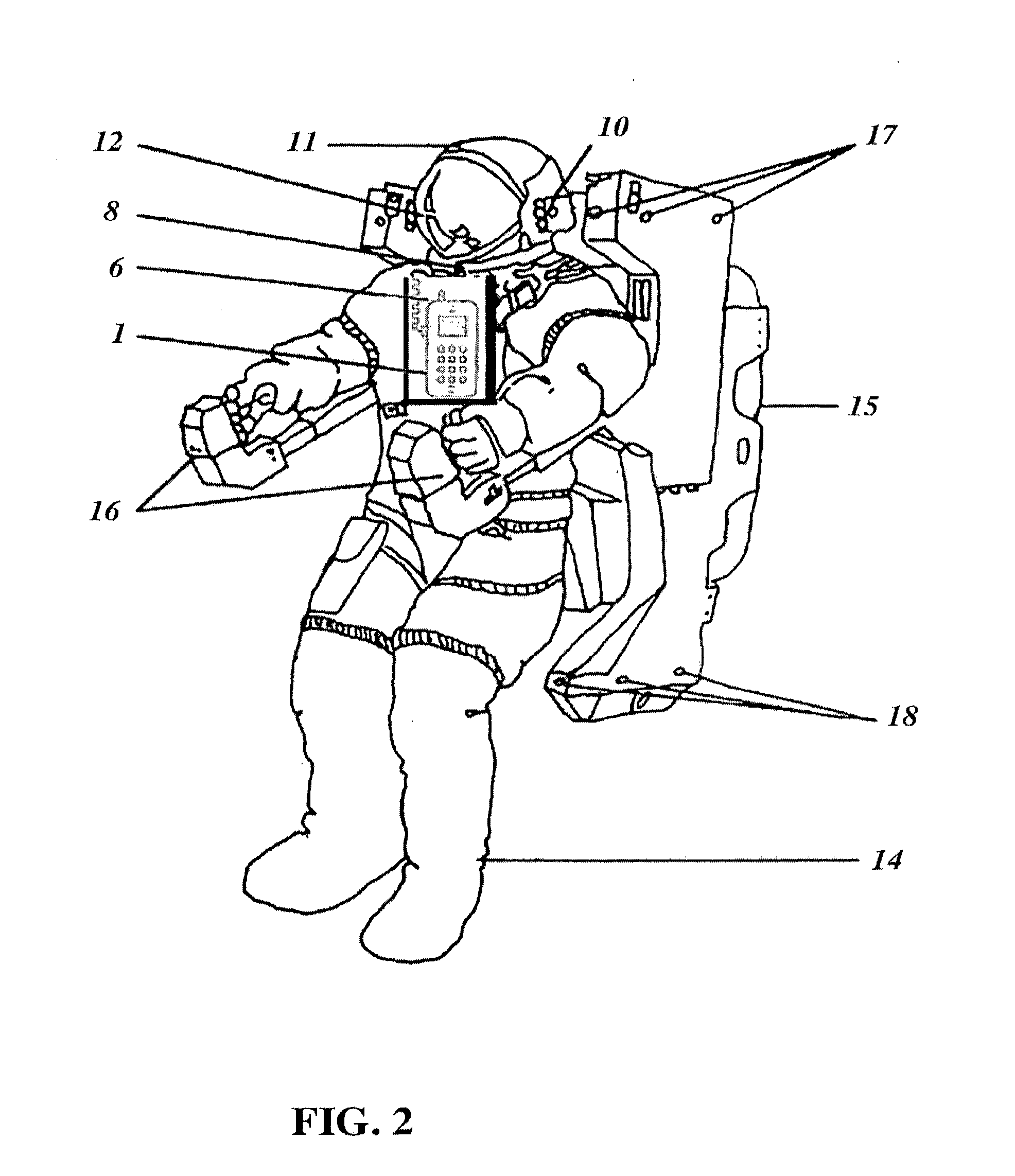 Astronauts Suit Backpack Diagram Page 2