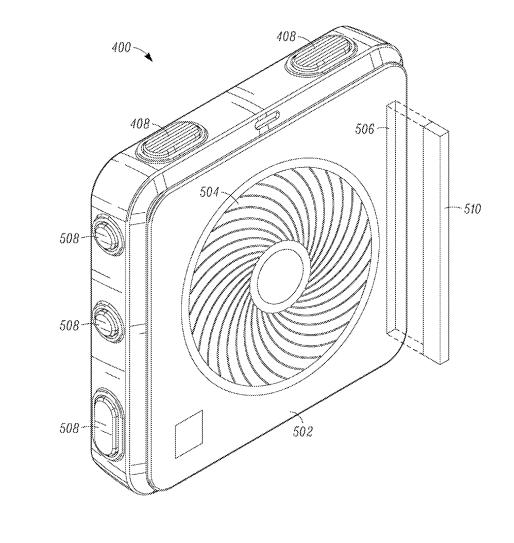 Google brevet déodorant connecté