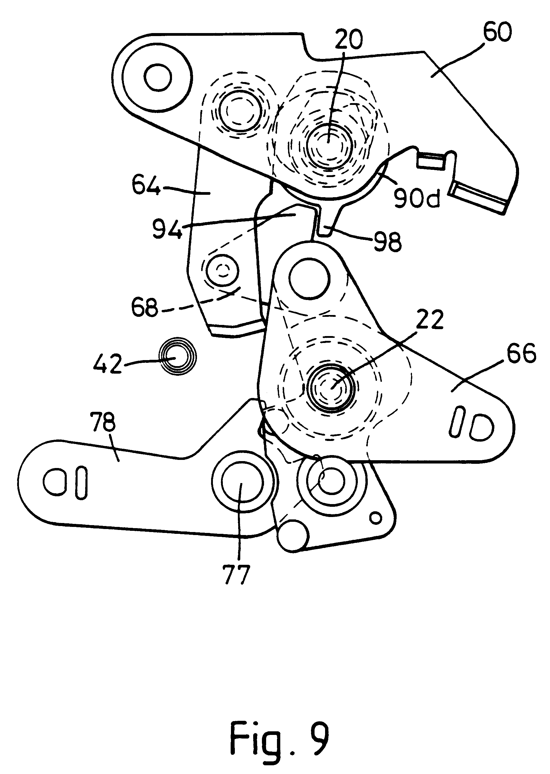Car Latch Diagram