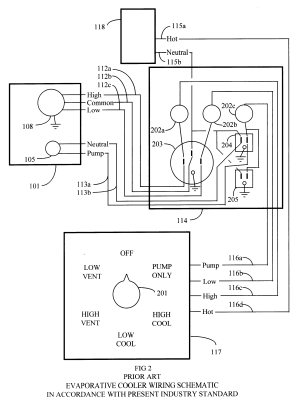 Patent US6357243  Remote control system for evaporative coolers  Google Patents