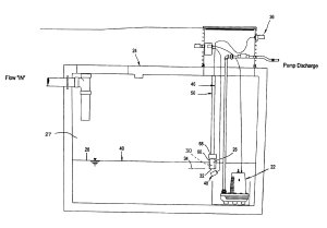 Patent US6632072  Pneumatic pump control system and