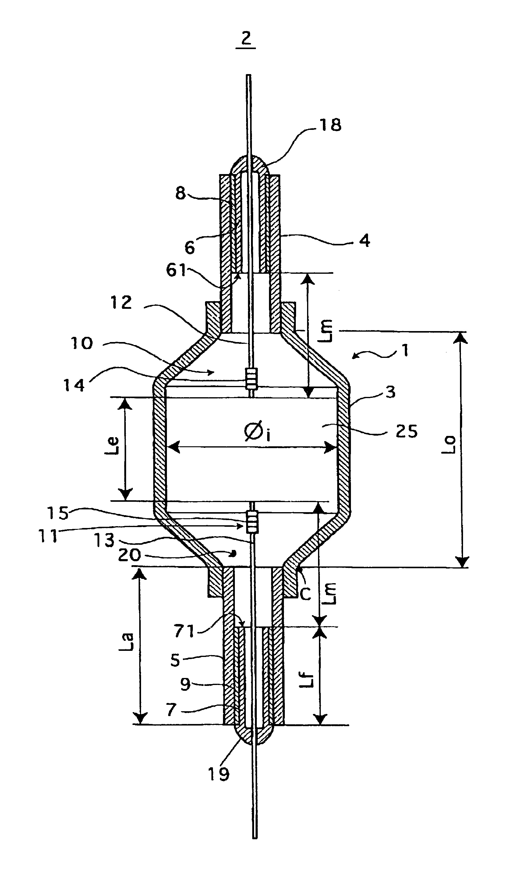 Discharge Lamp Diagram Perfect Patent Drawing With