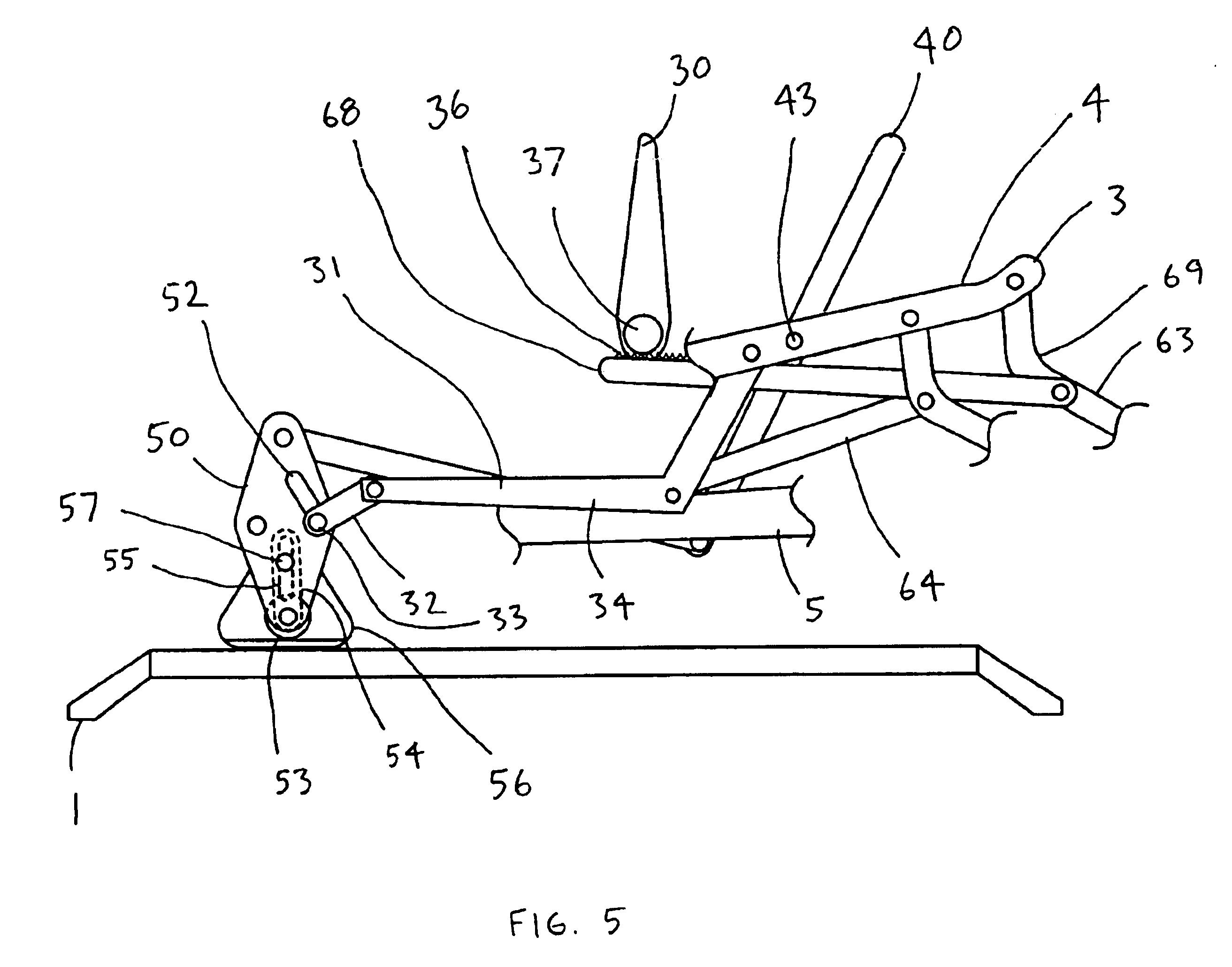 Lazy Boy Rocker Recliner Parts Diagram