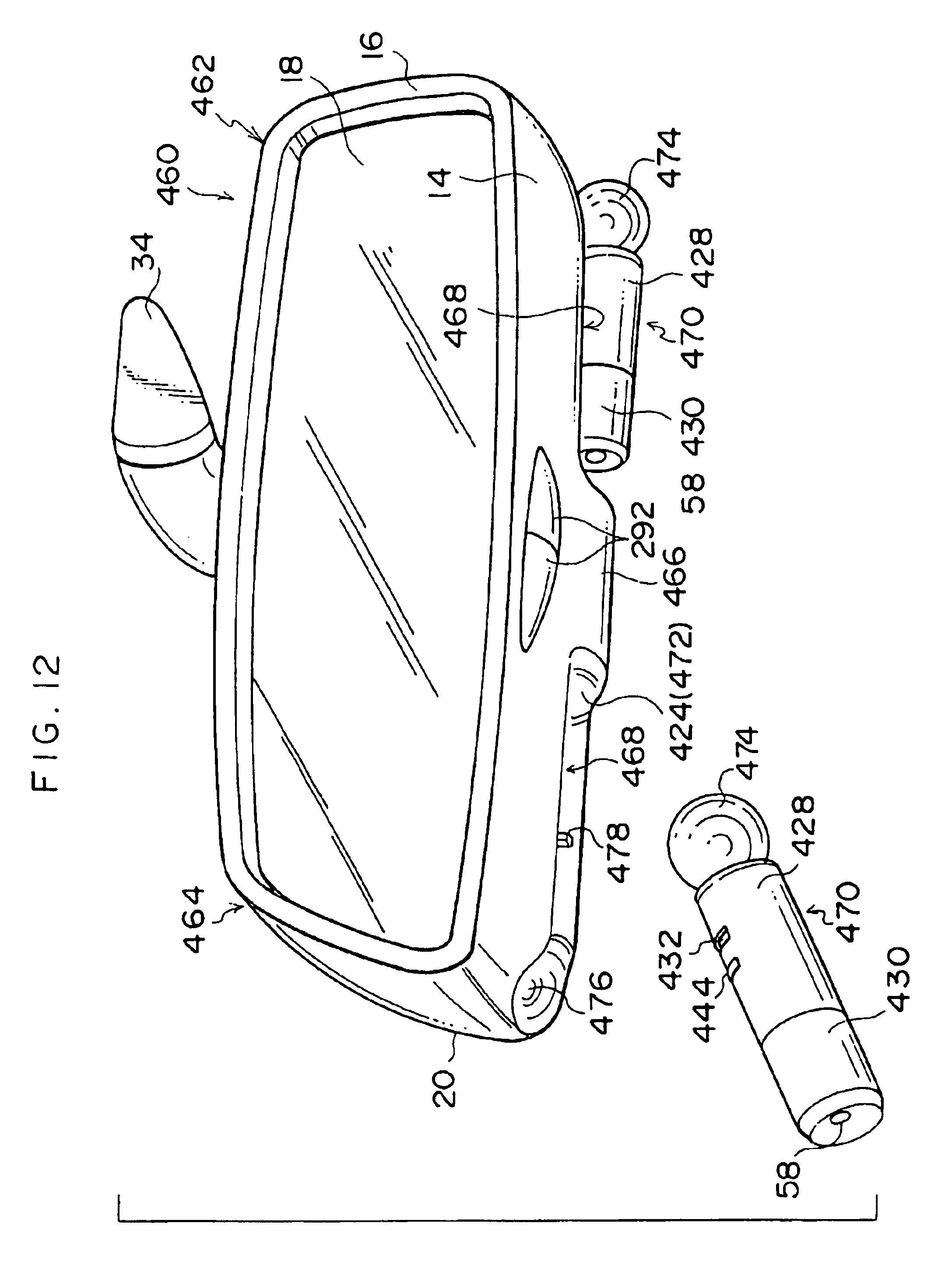 Patent us6746140 rearview mirror and interior lighting system
