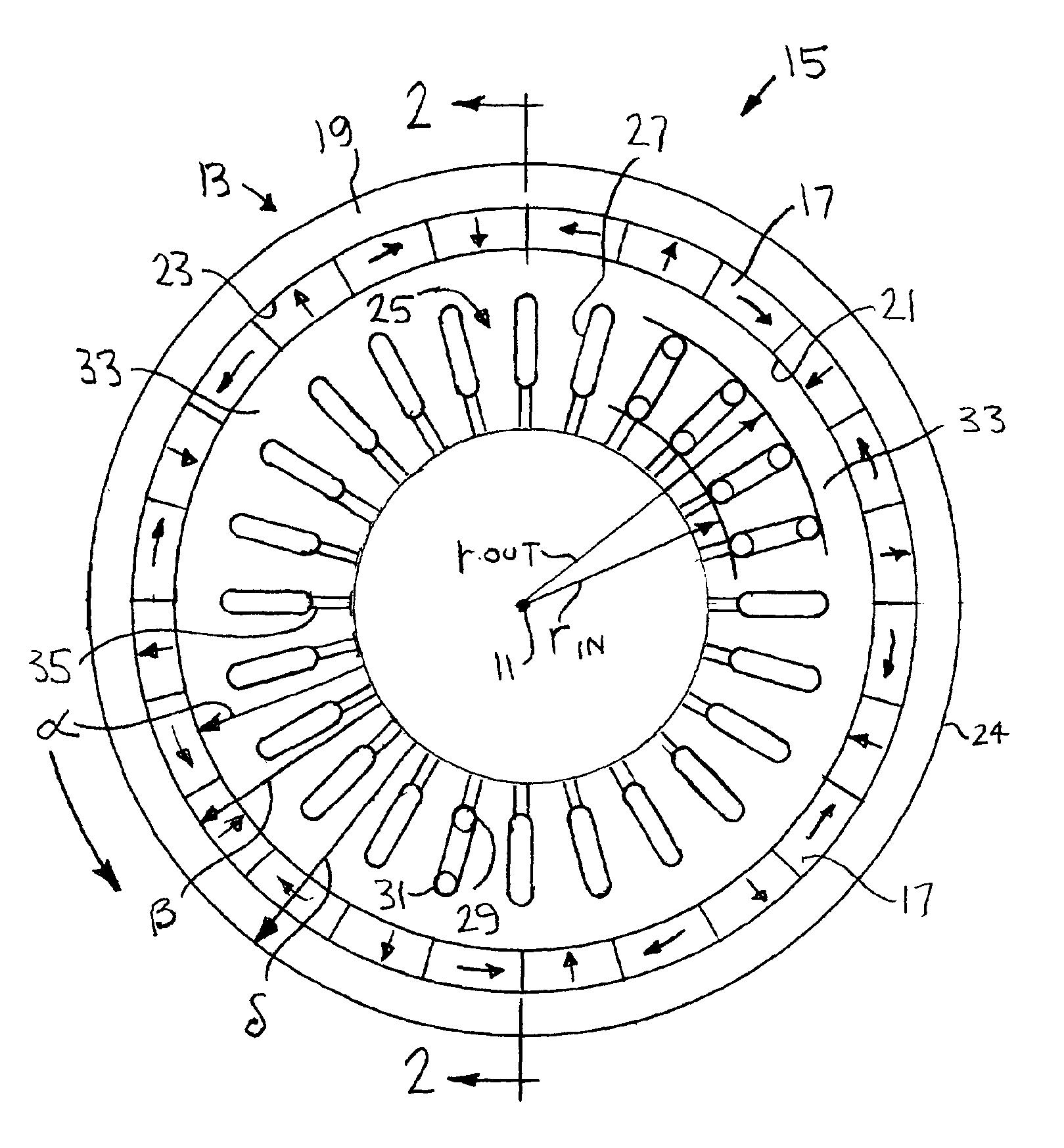 Halbach Array Motor Generator
