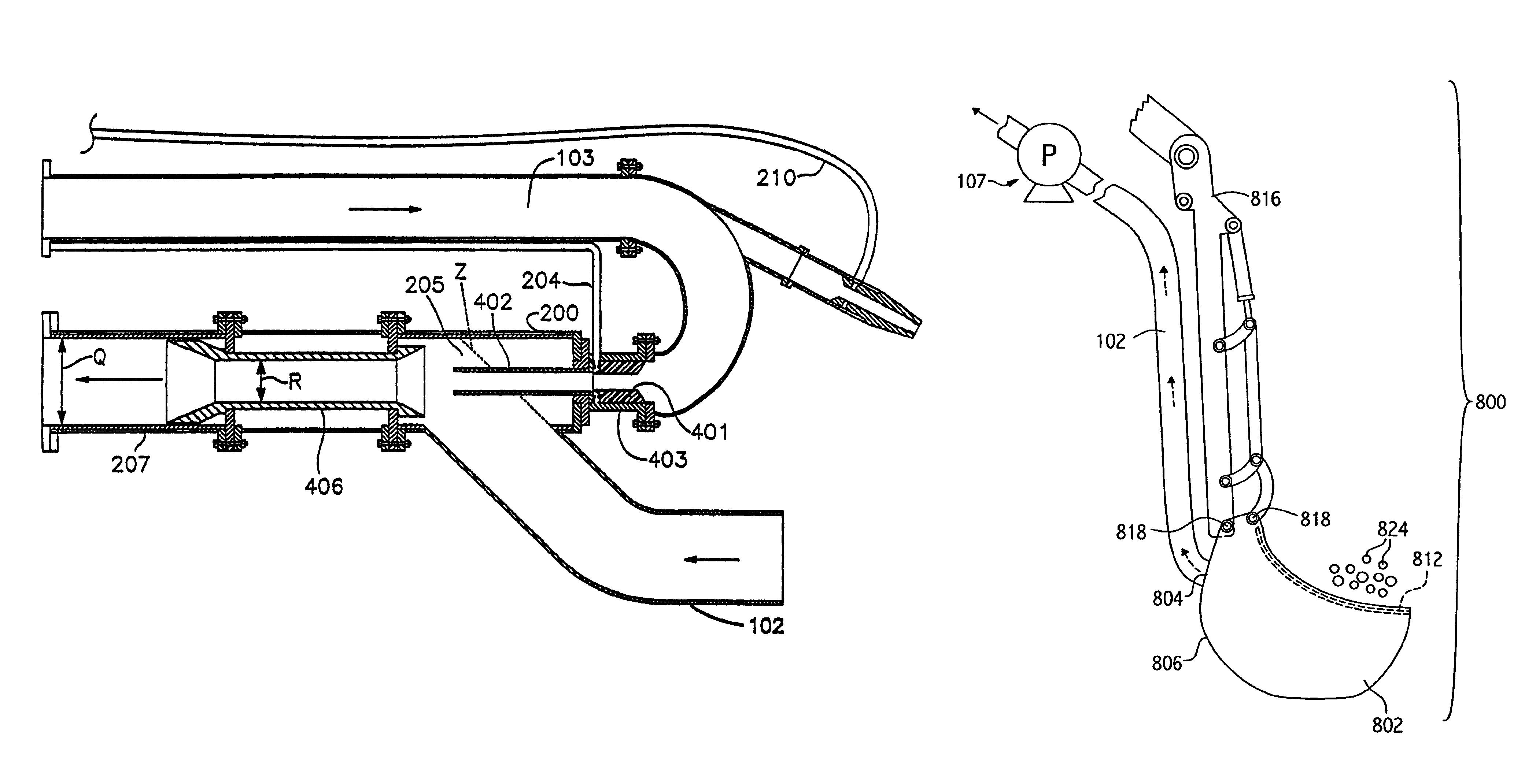 Suction Dredge Nozzle Design
