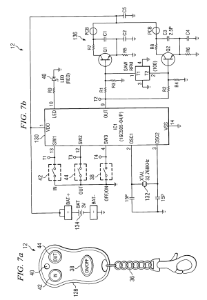 Patent US6995682  Wireless remote control for a winch  Google Patents