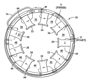 Patent US7152301  Method for winding a stator of multi
