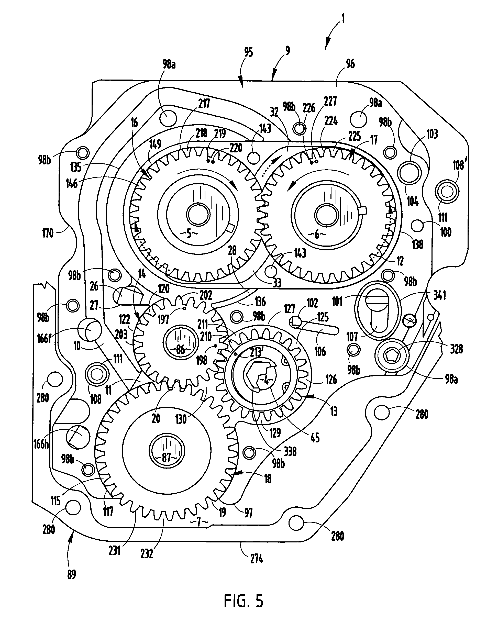 Patent us7171939 integrated cam drive and oil pump assembly for