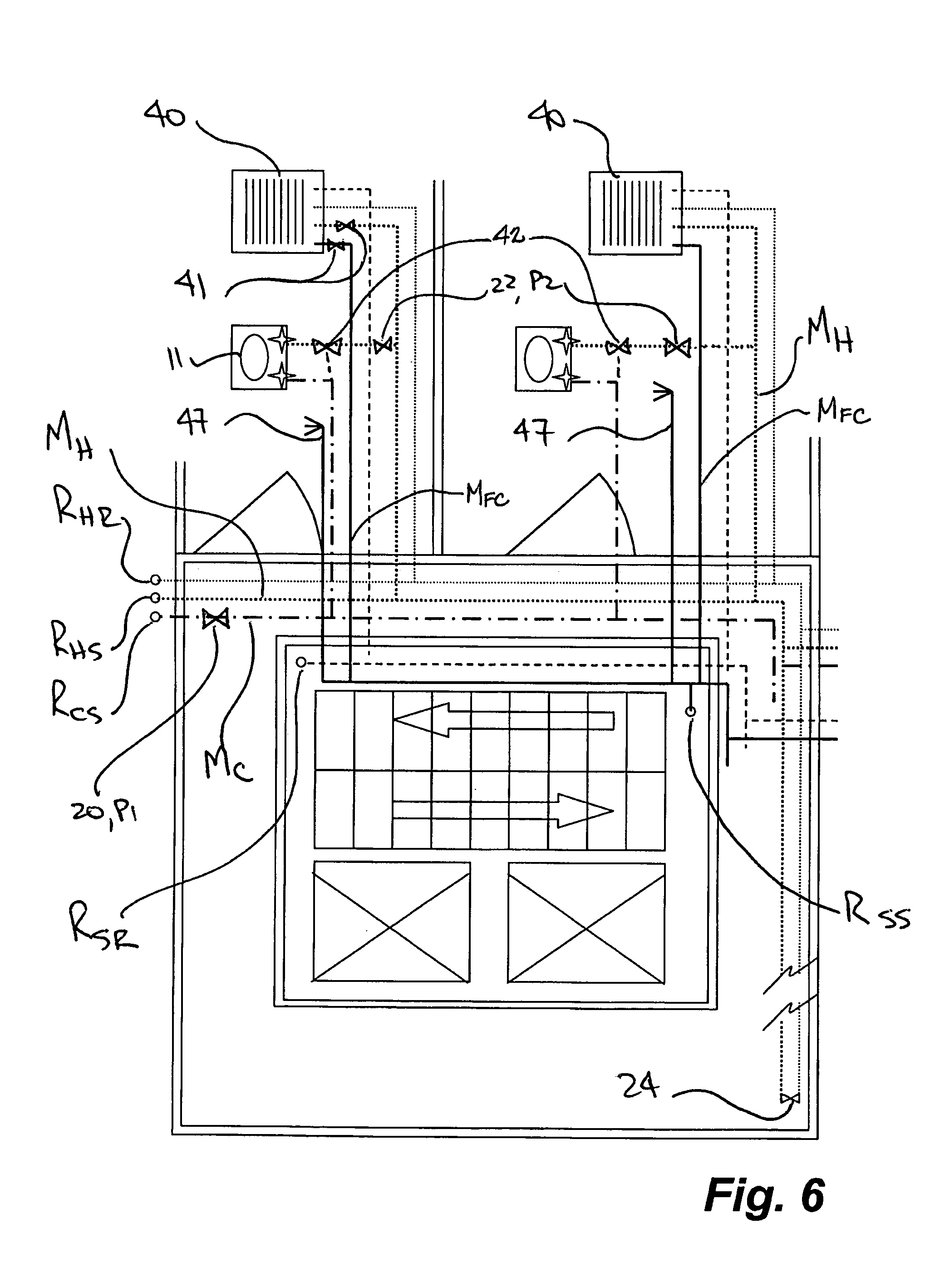 Domestic Water Supply System Riser Diagram