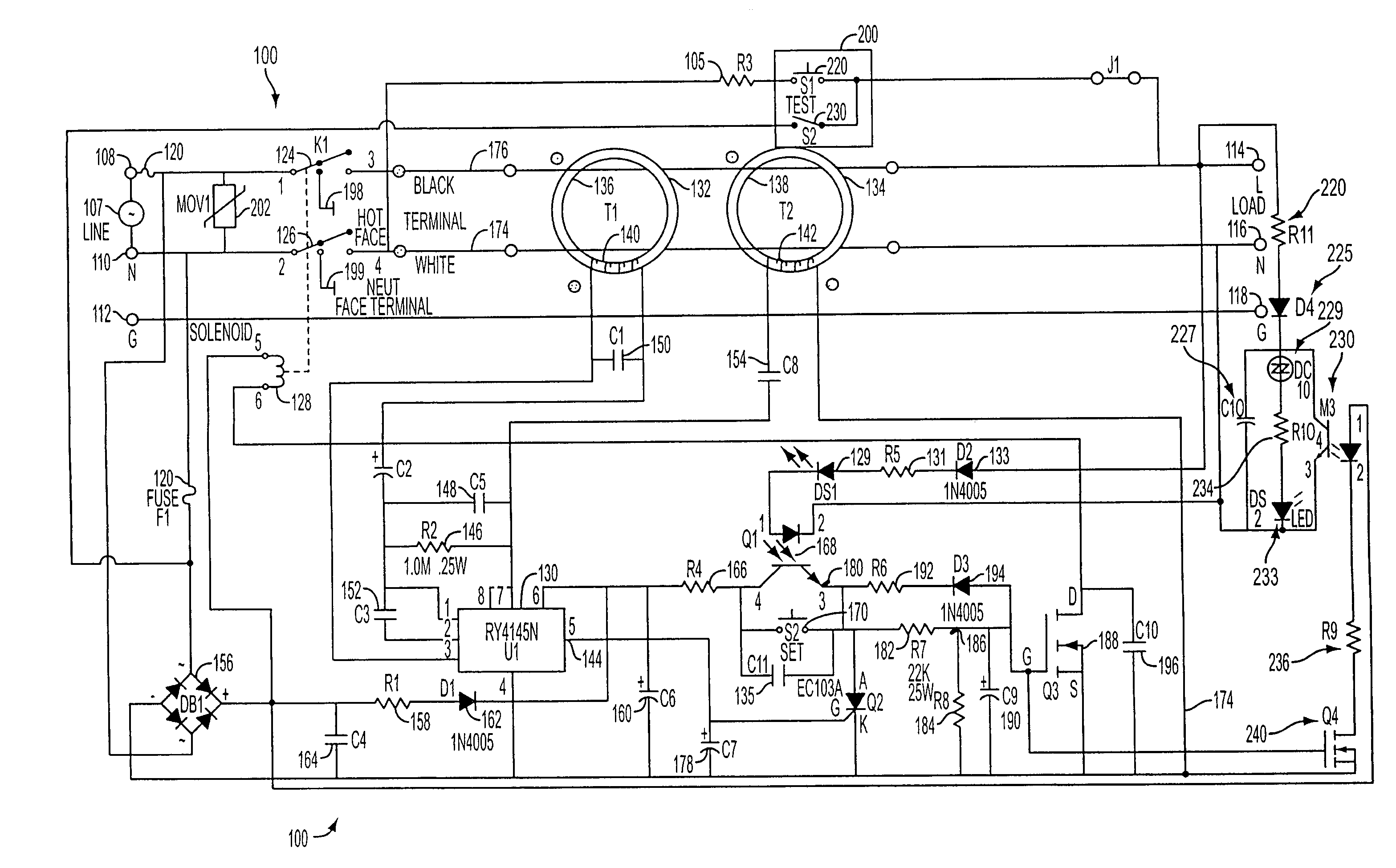 US07336457 20080226 D00000?resize=665%2C414 ground fault wiring diagram wiring diagram,Ground Fault Wiring