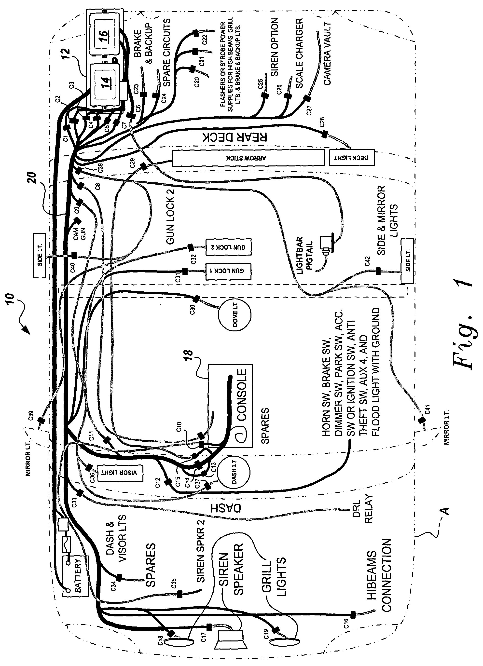 B Cat Wiring Diagram