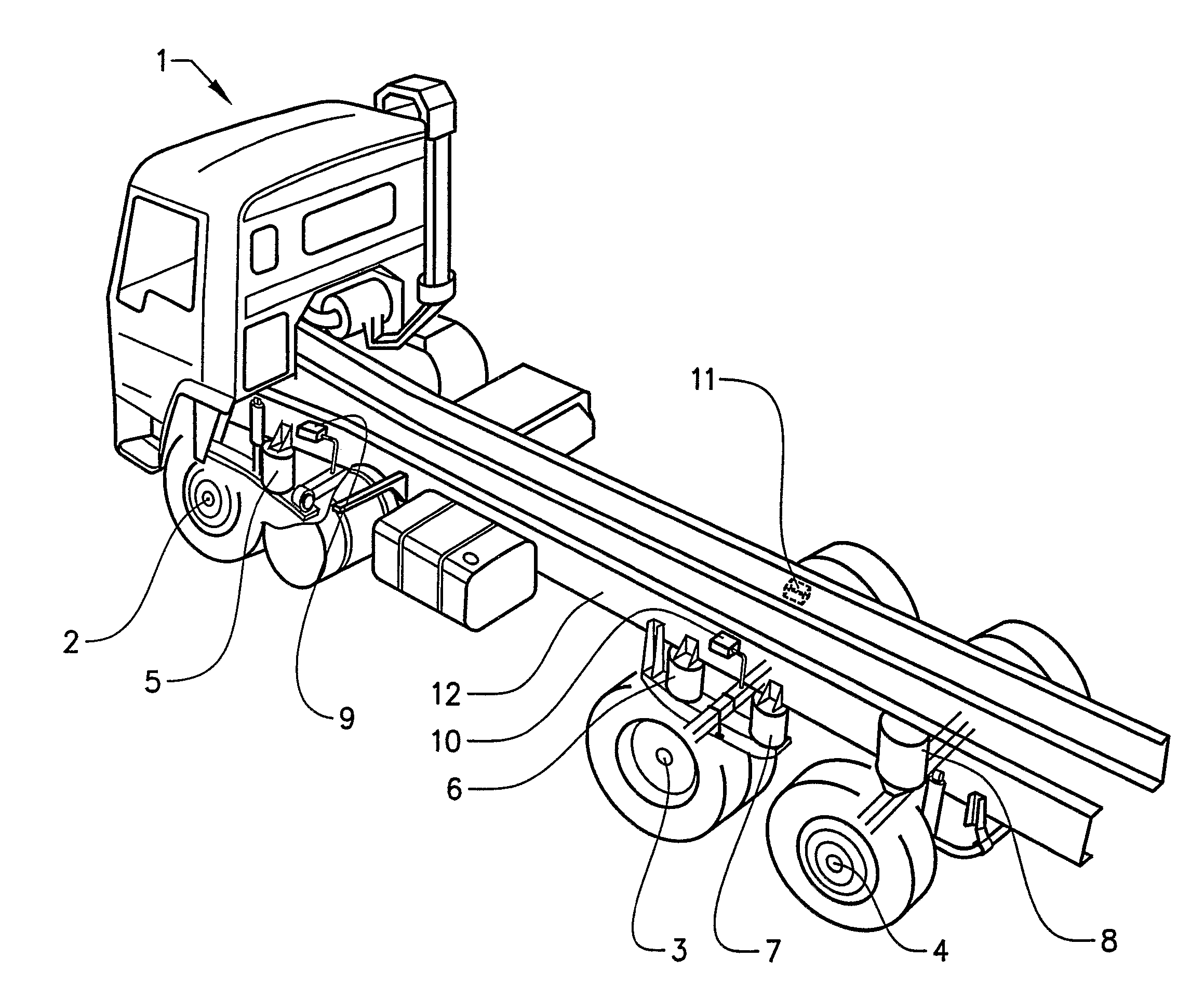 Pickup Truck Rolling Chassis