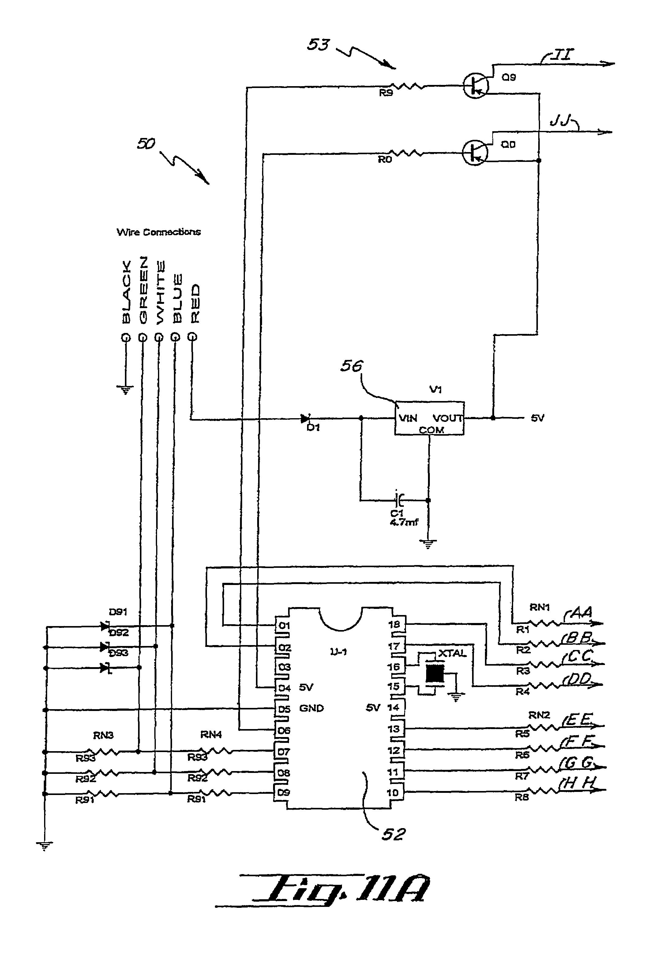 US07561036 20090714 D00005?resize\=665%2C973 whelen headlight flasher wiring diagram whelen wiring diagrams whelen 295hfsa1 wiring diagram at alyssarenee.co