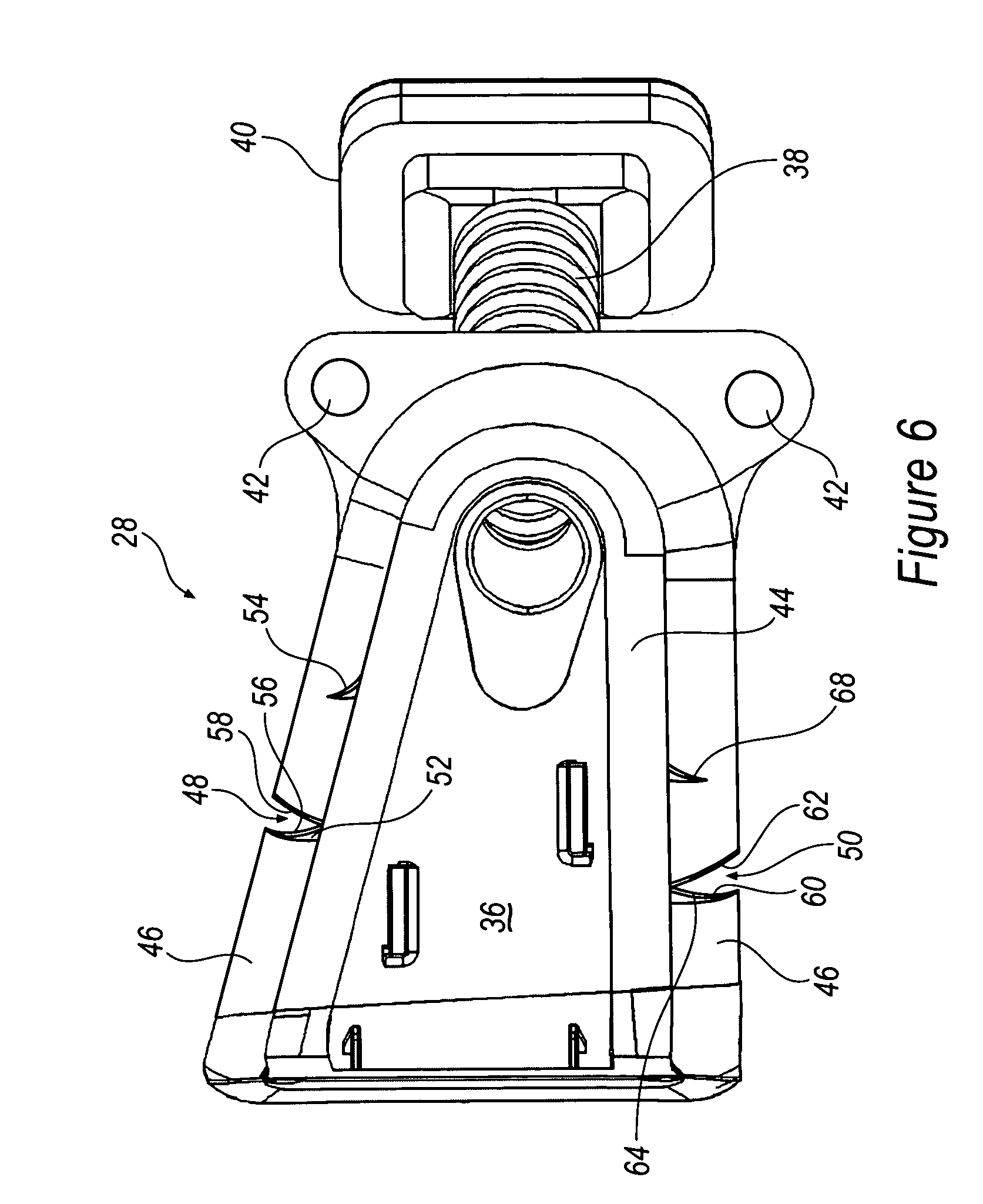 Patente us7615713 mounting structure for wiring harness