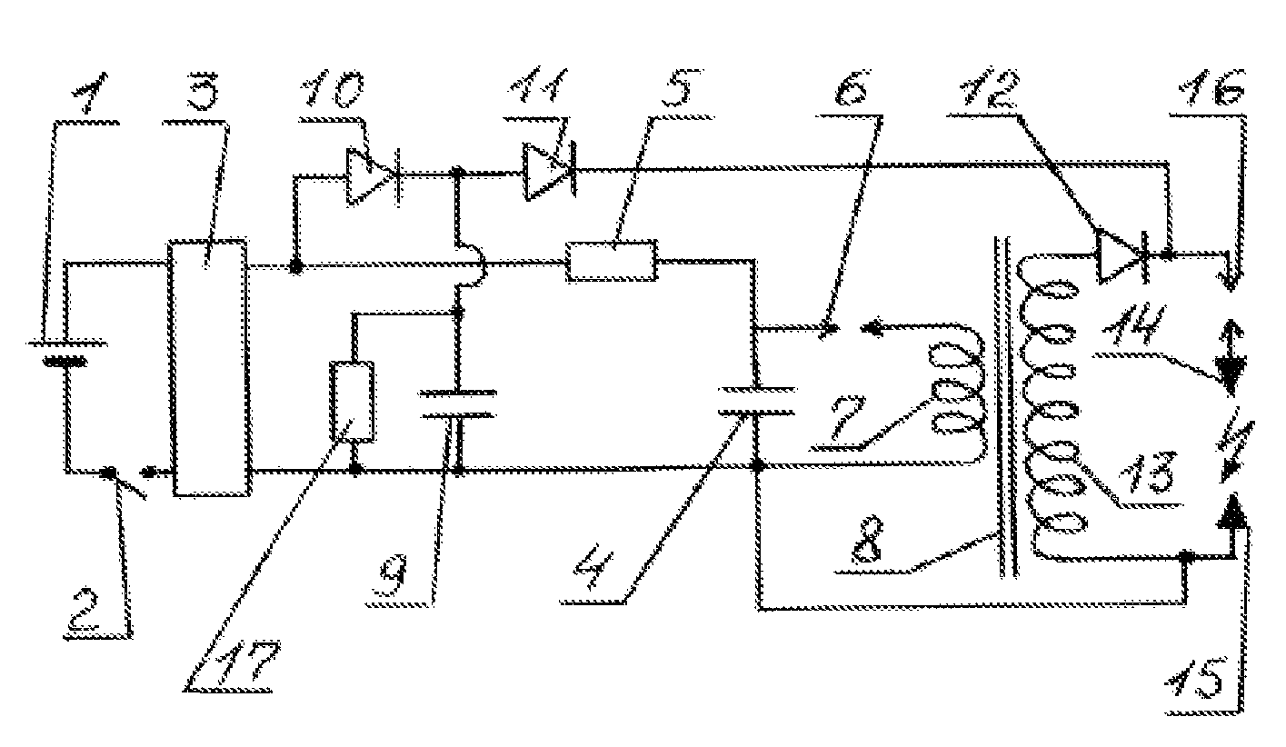 Electric Shocker Schematic Diagram