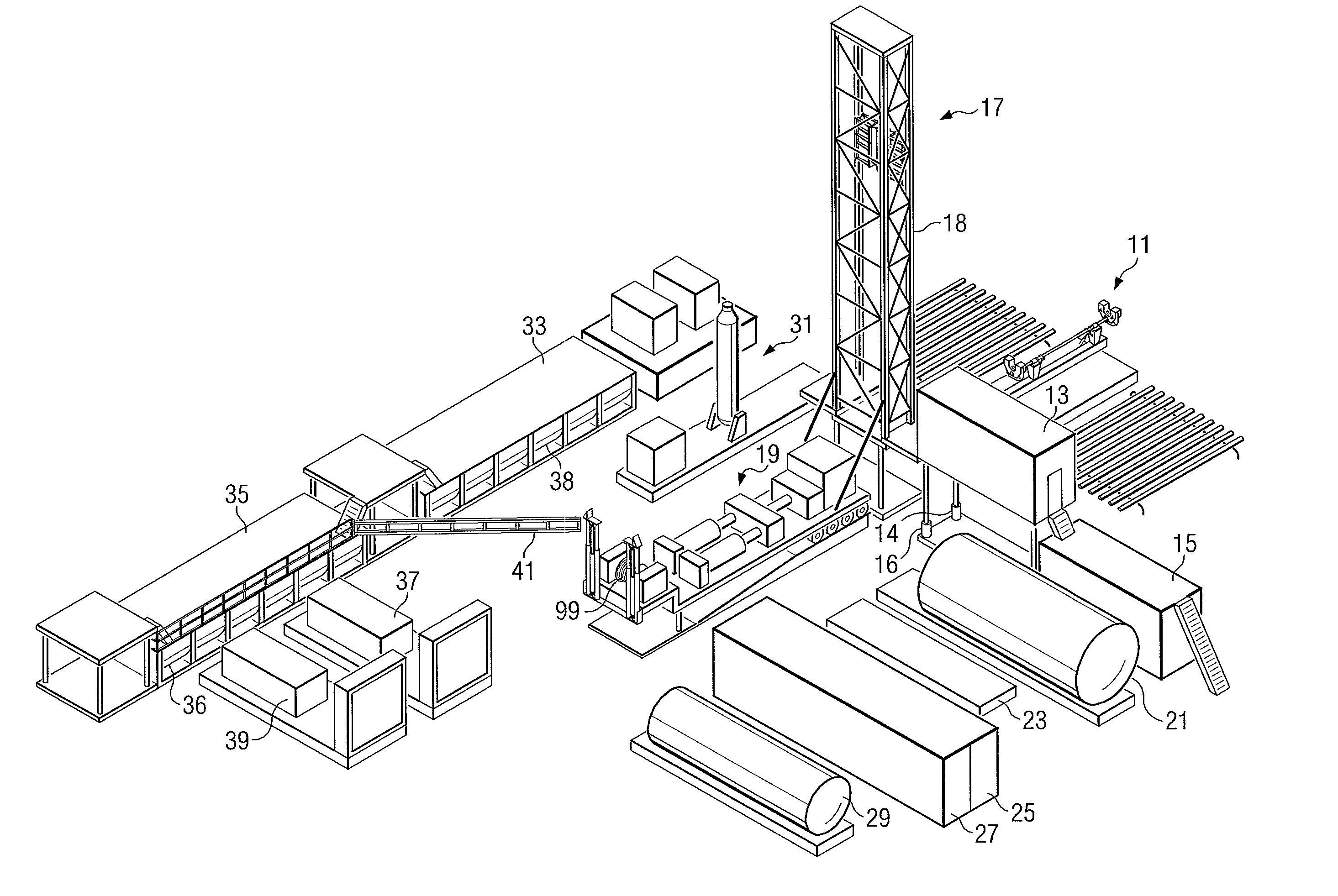 Oil Drilling Diagram