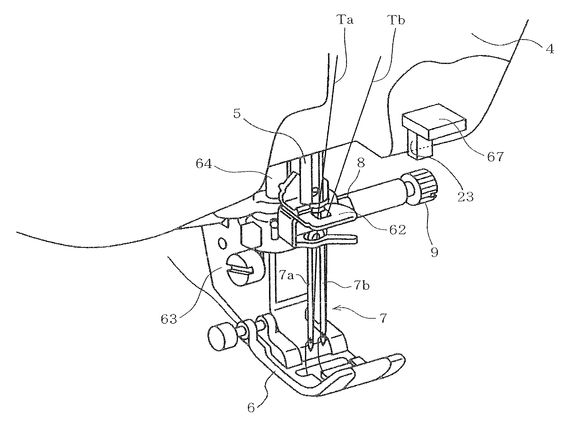 Harness Industrial Sewing Machine