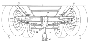 Patent US8333015  Method for adjusting axle camber