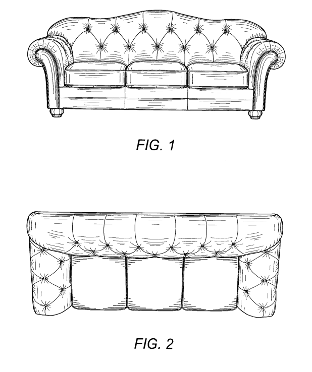 Chesterfield sofa blueprints for Sofas chesterfield baratos
