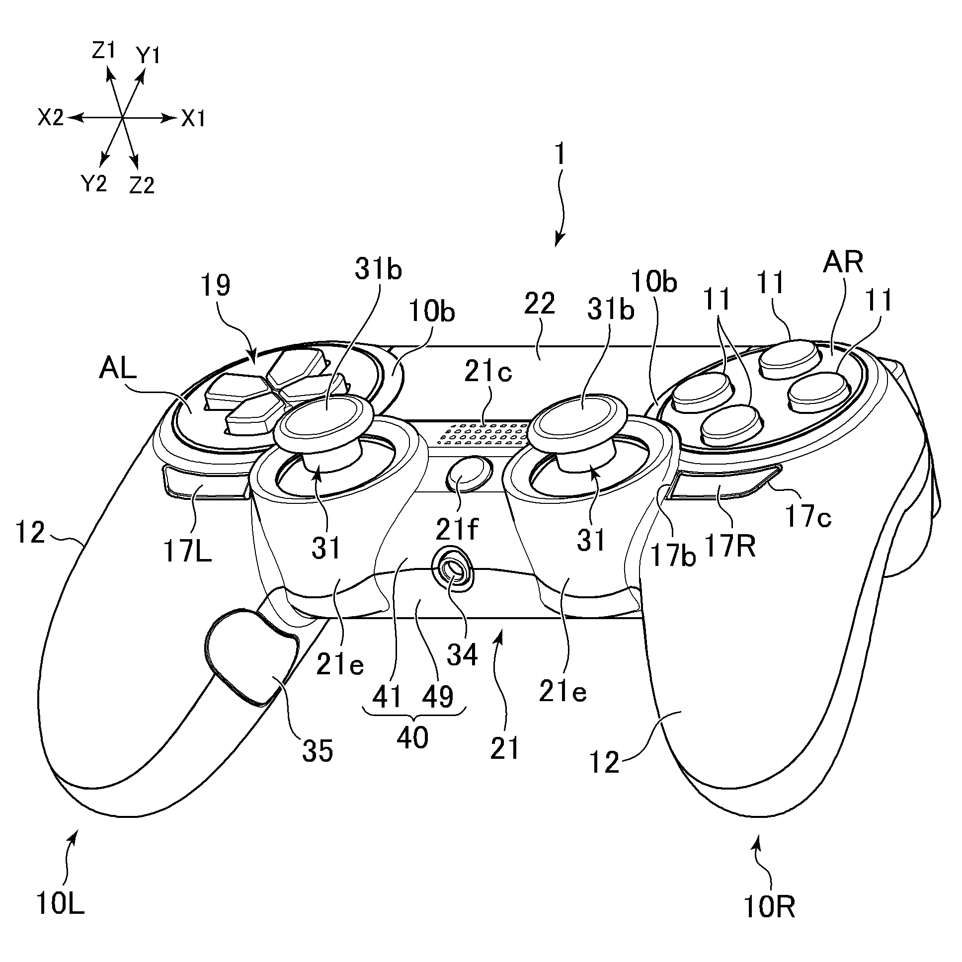 Game N Motion Playstation 4 Controller Patent Shows The Dualshock 4 S That Could Have Been Ds4