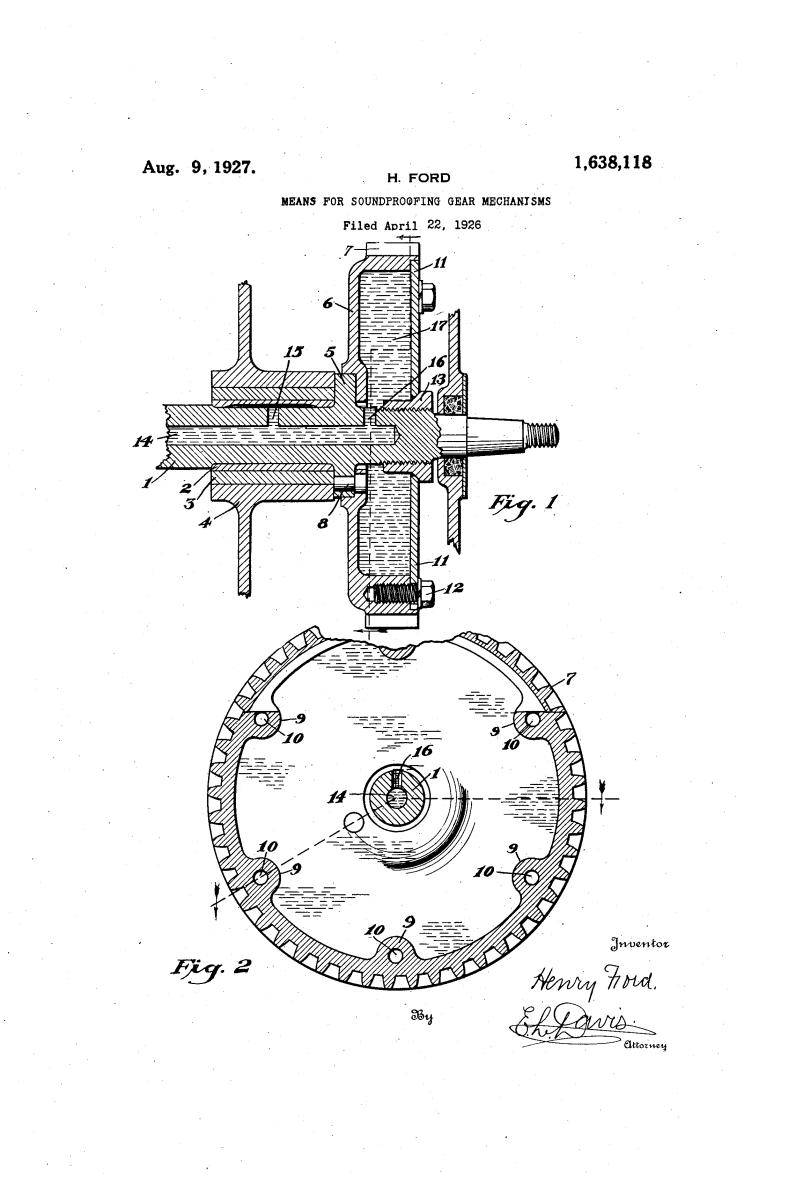 Henry Ford Random Patents #3
