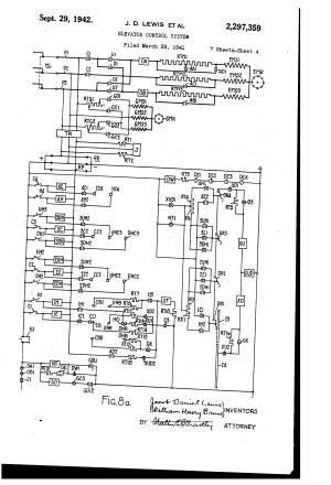 Patent US2297359  Elevator control system  Google Patents